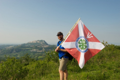 Psicoatleti-Giro-della-Libertà-2012-In-vista-del-Monte-Titano